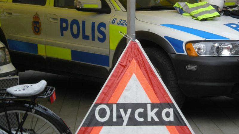 "Skylt ""olycka"", Foto: Staffanstorps kommun"