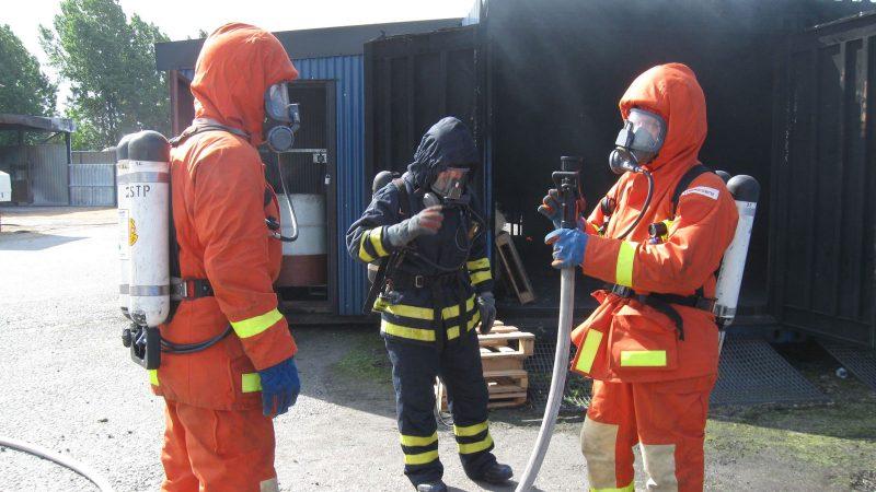 Brandmän. Foto: Marianne Danell