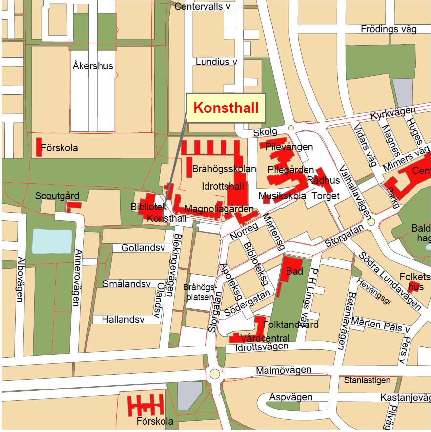 staffanstorp karta Konsthall | Staffanstorp staffanstorp karta