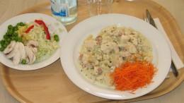 Lunch på Pilegårdens Restaurang. Foto: Ola Winqvist