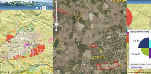 Exempel på interaktiva kartor