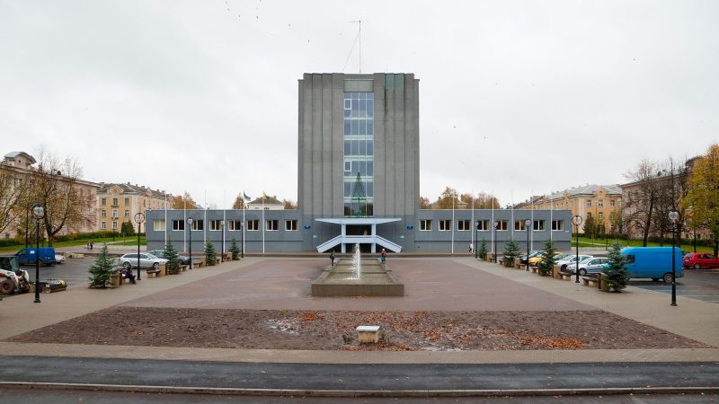 Stadshuset i Kohtla Järve. Foto: Medvedev via Wikimedia Commons