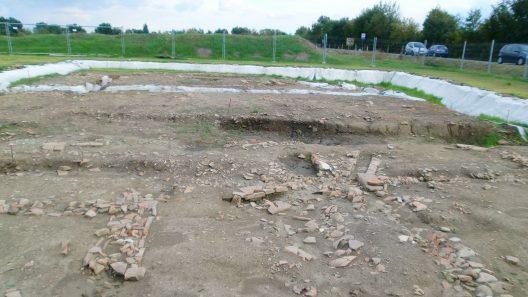 Utgrävning vid Claterna. Foto: Desyman via Wikipedia