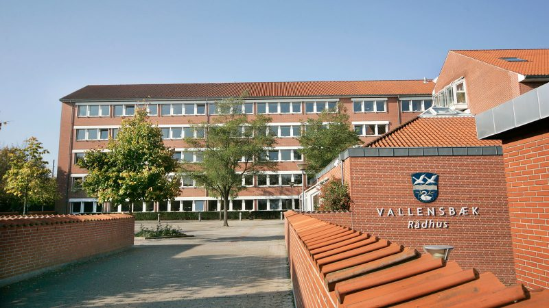 Rådhuset i Vallensbaek. Foto: Vallensbaek kommune