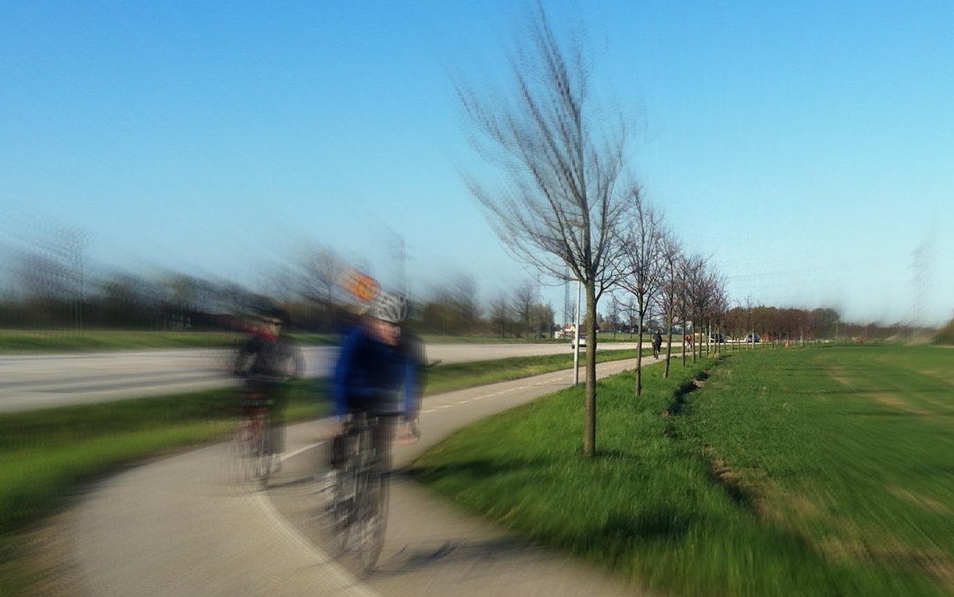 Pendla med cykel. Foto: Oscar Monell
