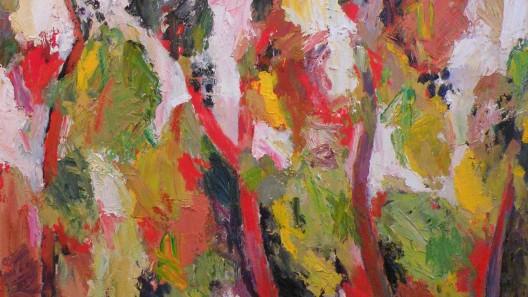 Målning av Bente Bjerregaard