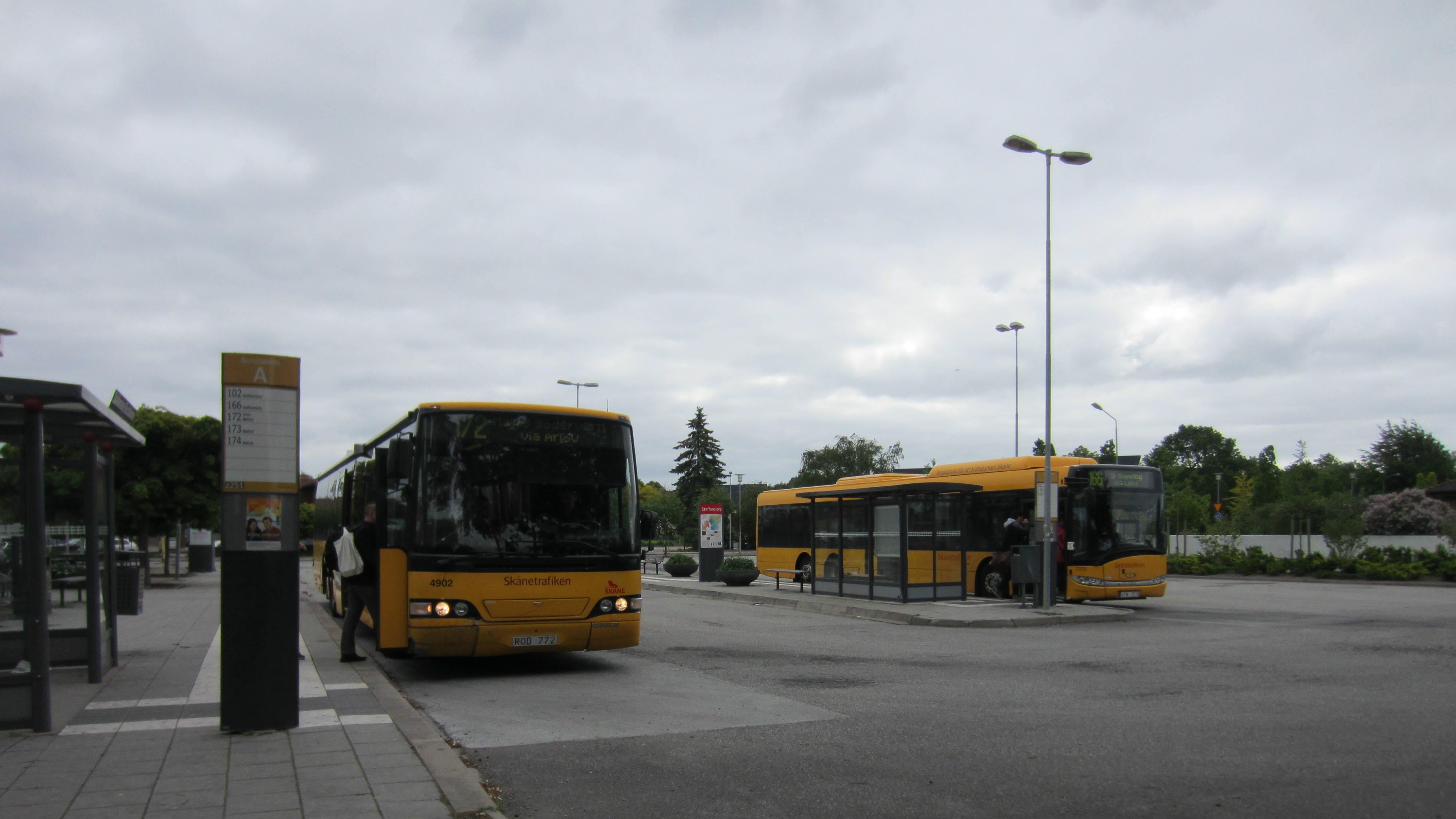 Busstation Staffanstorp Foto:Marie Schyllert