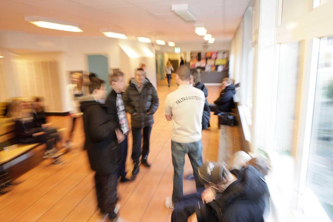 Ung på skola i Staffanstorp Foto och licens:Ulrika Vendelbo