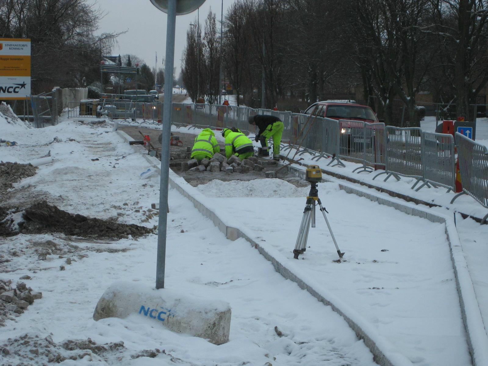Busshållplats Storgatan Foto: Maria Gunnarsson