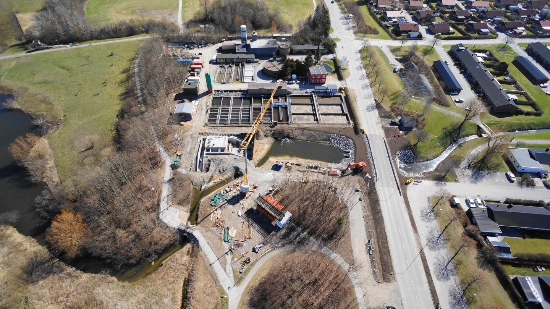 Nya dagvattenpumpstationen, bild 9