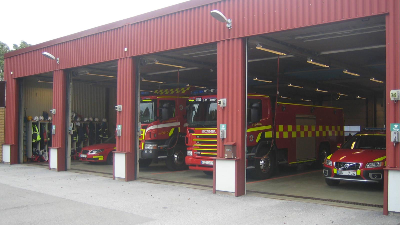Brandstationen i Staffanstorp