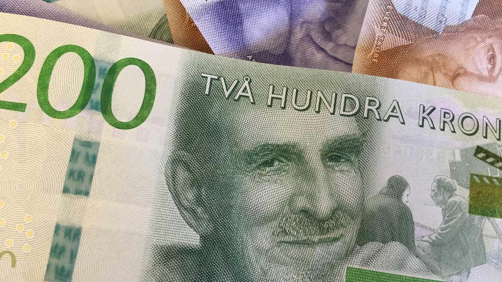 Pengar. Foto: Lisbeth Svensson