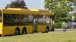 Buss. Foto: Staffanstorps kommun