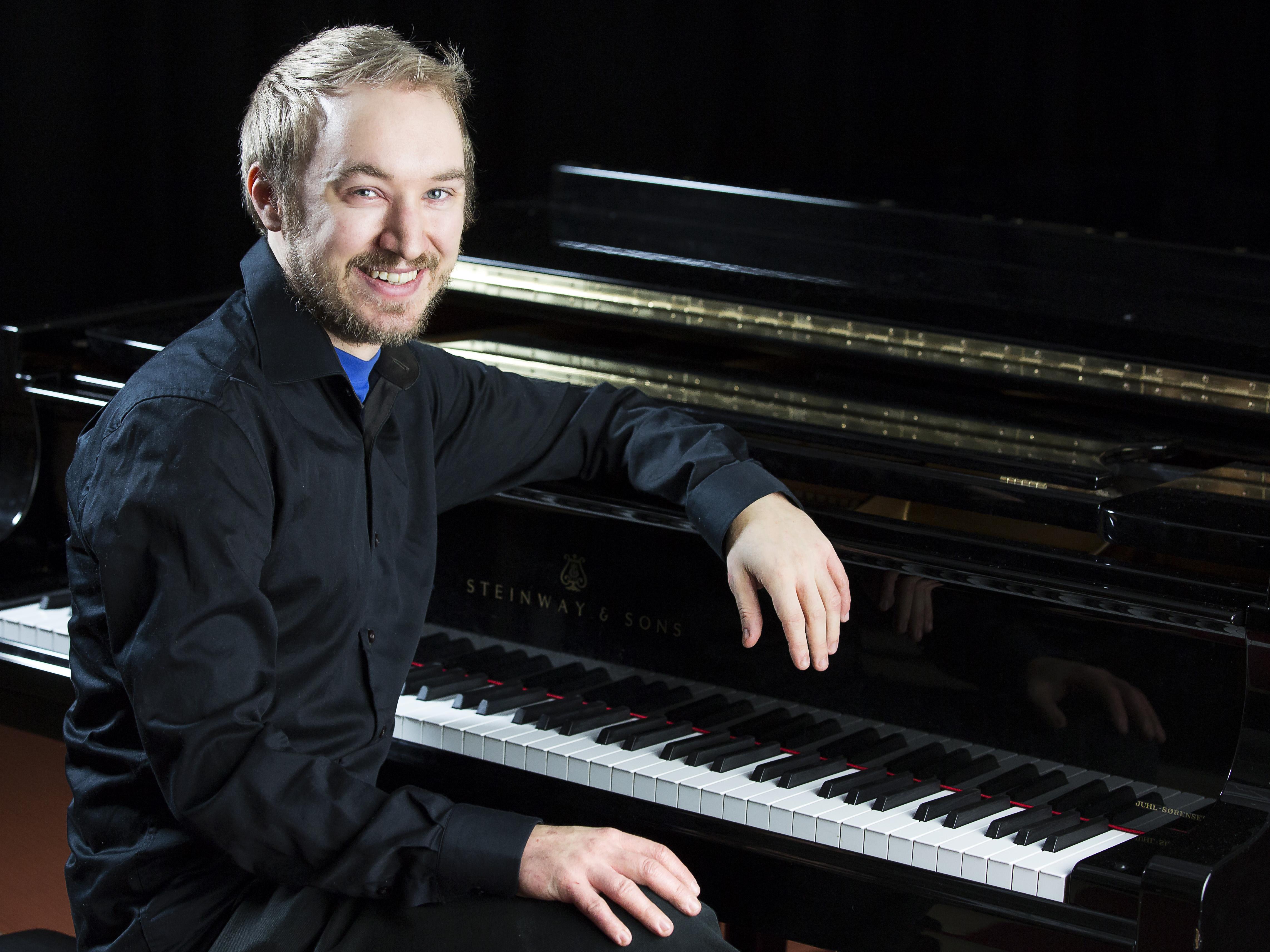 Fredrik Schützer Foto & Licens:LIMUS Musikskola