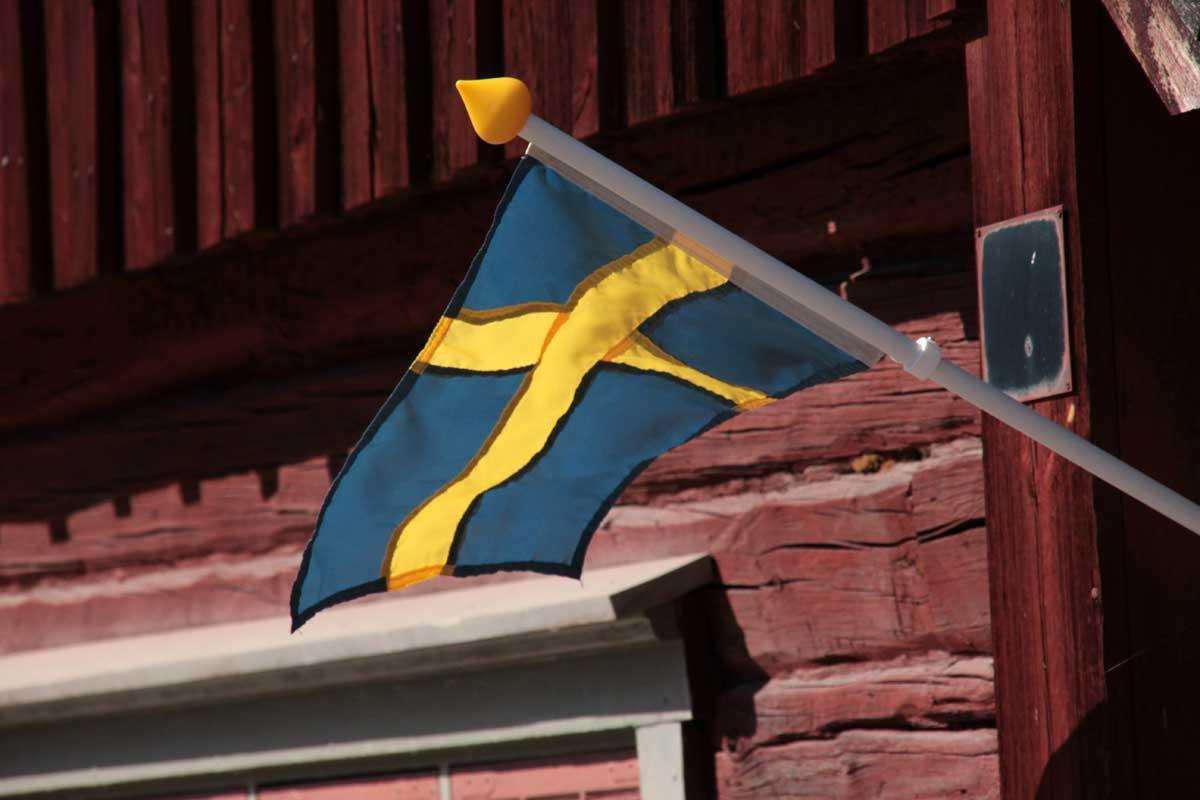 Svenska Flaggan Flicr.com Foto: Yvonne Larsson