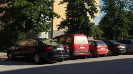 Parkering. Foto: Lisbeth Svensson