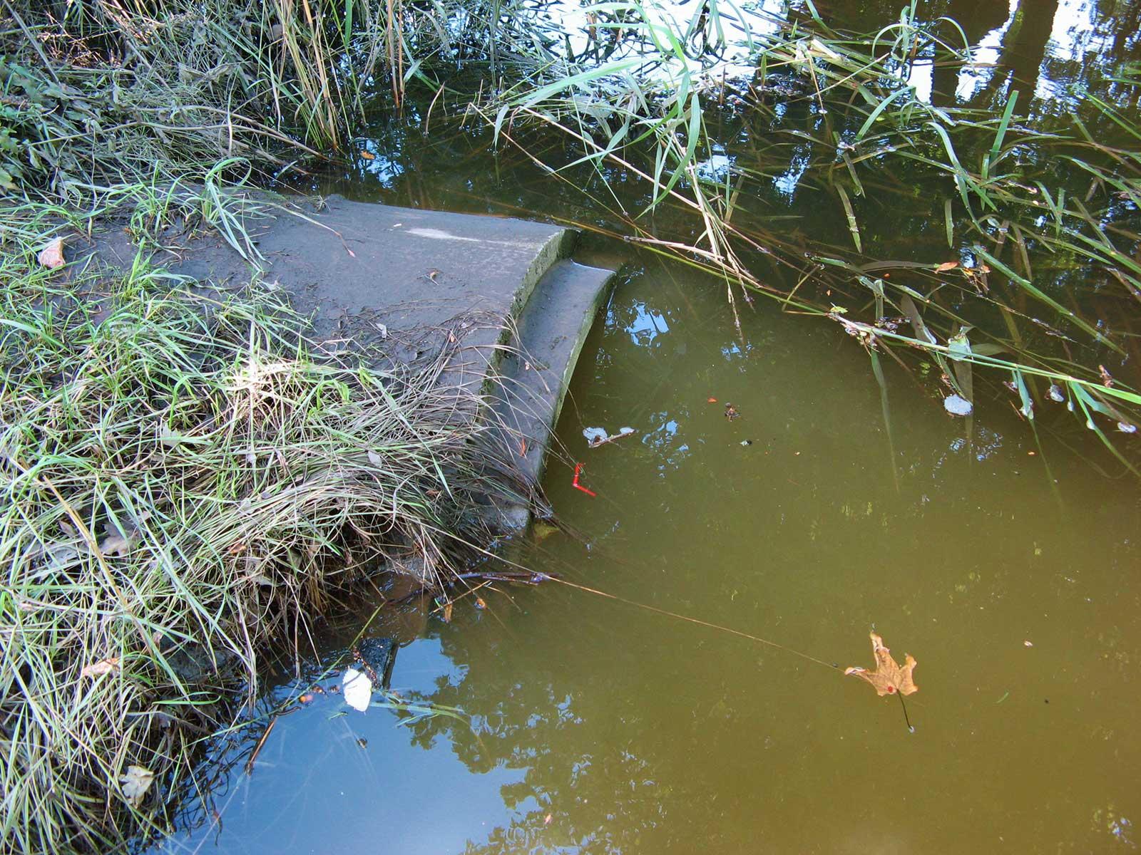 Dagvattenrör Segeån Foto:Segeåns Vattenråd