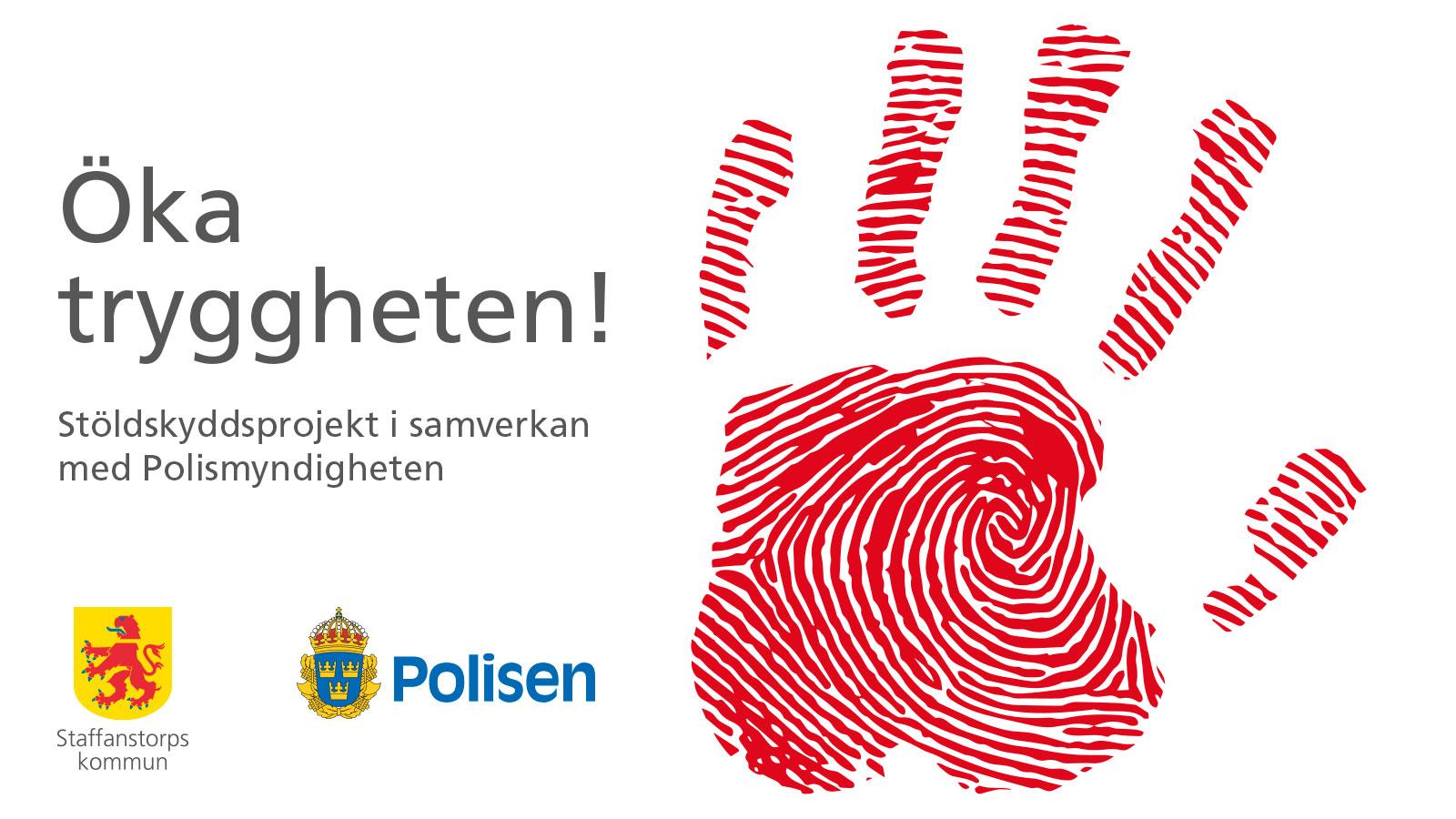 Först i södra Sverige med nytt stöldskyddsprojekt