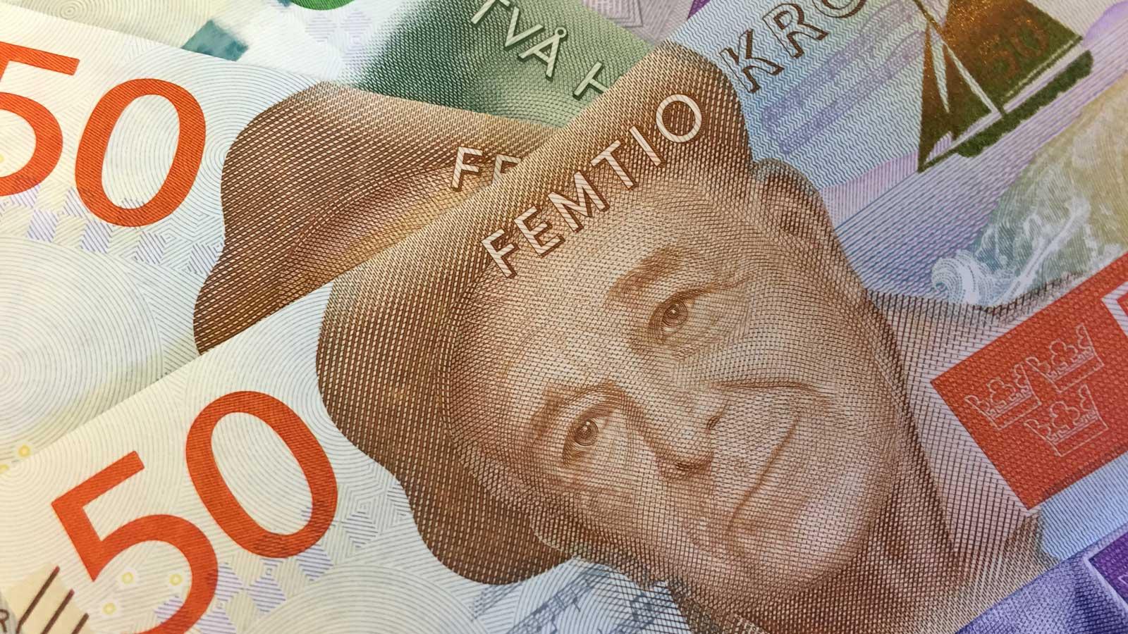 Nya pengar Evert Taube Foto:Lisbeth Svensson