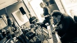 Jazzkvartett S'il Vous Play Foto & Licens: Scott Vance