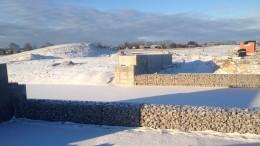 Dammen i vinterskrud Foto: Karl Andersson