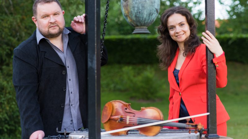 Julia Sigova och Anton Lasine Foto & Licens: Nicklas Raab