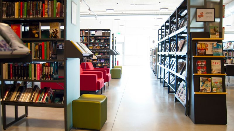 Hjärups bibliotek. Foto: Staffanstorps kommun