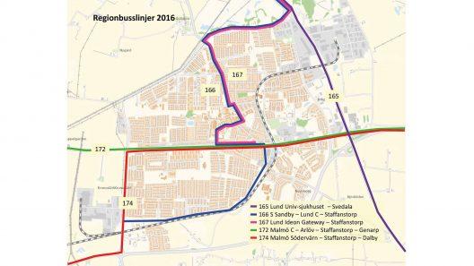 Regionbusslinjer 2016-10-20