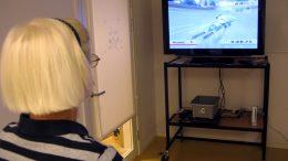 Nintendogruppen på Medelpunkten. Foto: Ivar Sjögren