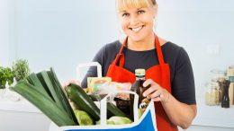 E-handel, matkasse. Foto: Bergendahls Food