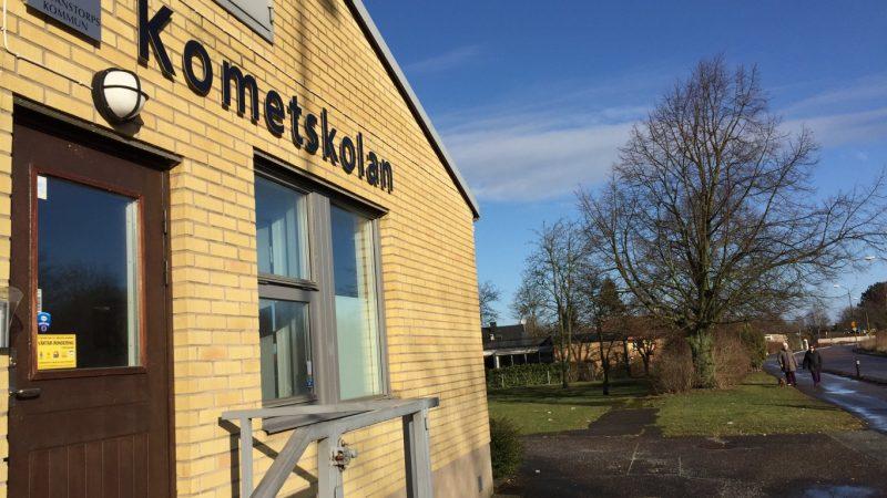 Bild på Kometskolan Foto: Niklas Lorentsson