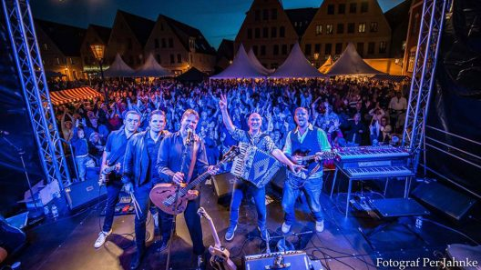 Danne Stråhed på Skånefestivalen. Foto: Per Jahnke