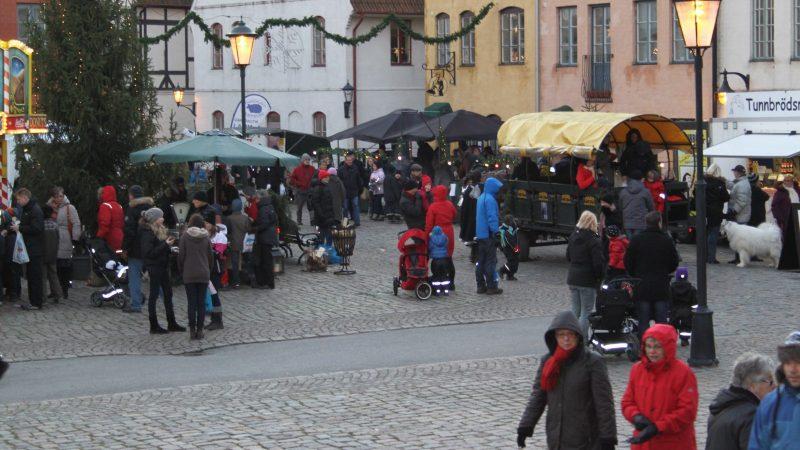 Julmarknad. Foto: Jakri AB