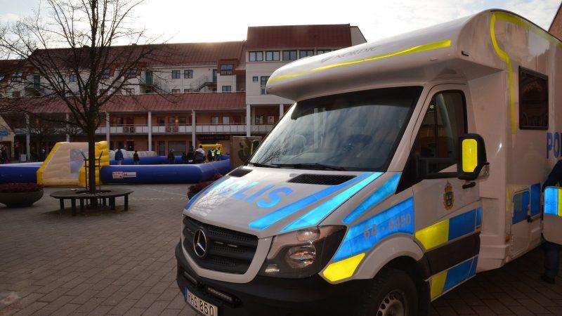 Polisens husbil. Foto: Staffanstorps kommun