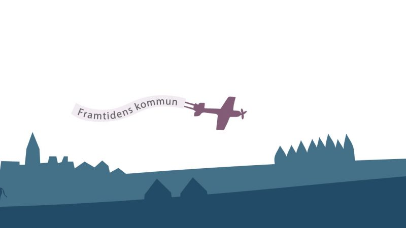 Flygplan. Illustration: Alva Esping