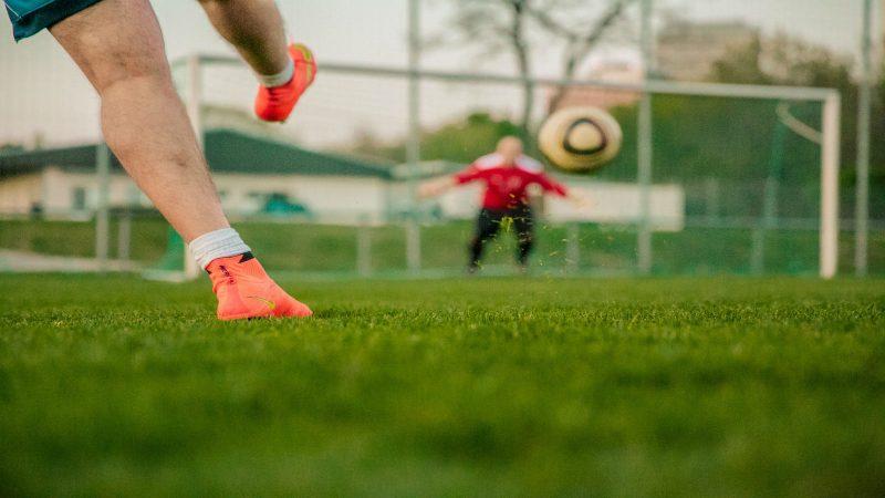 Fotbollsmål. Foto: Pixabay