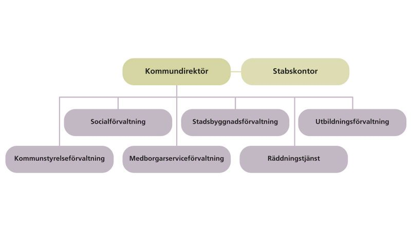 Kommunens organisation