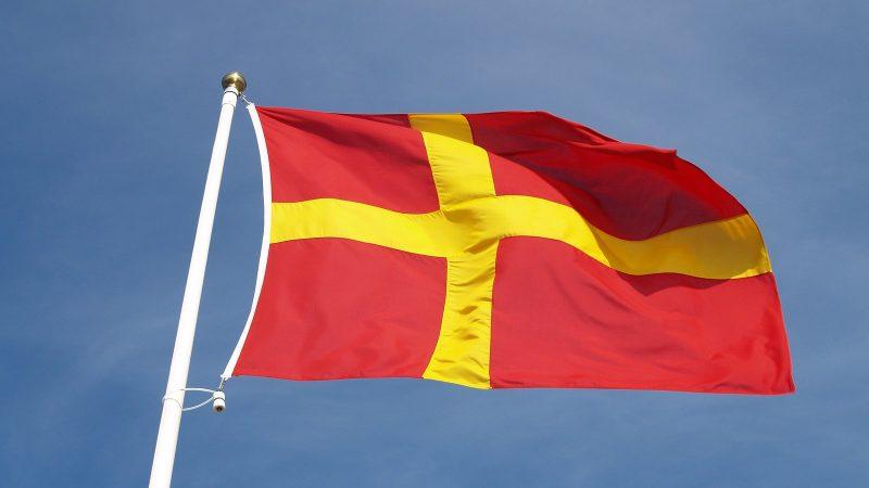 Skånsk flagga. Foto: Unif via Pixabay
