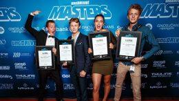 Vinnarna i SM för sommarföretagare. Foto: Christopher Schauz, Schauz Media