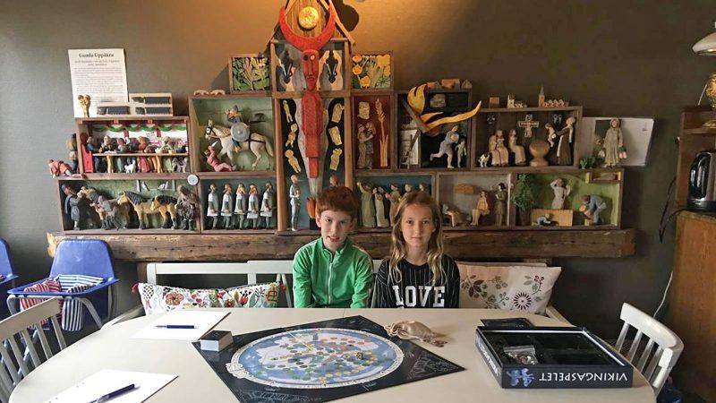 Elias & Emmie Foto & Licens: Karin Nilsson Uppåkra Arkeologiska Center