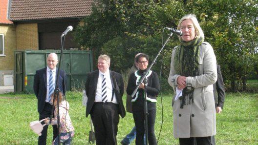 Invigning av vendeltidsdagarna. Foto: Ivar Sjögren