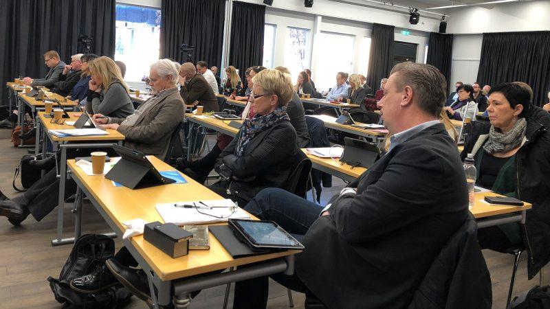 Kommunfullmäktiges budgetmöte 20181126 Foto: Lisbeth Svensson