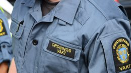 Ordningsvakt. Foto: Staffanstorps kommun