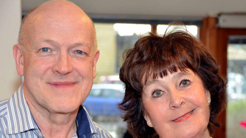 Eva och Dan från Dinos orkester
