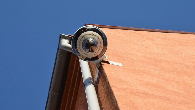 Övervakningskamera vid Rådhuset Foto: Johanna Liwenborg
