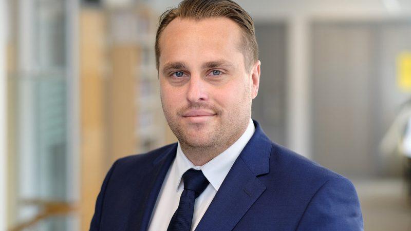 Kommunstyrelsens ordförande Christian Sonesson (M). Foto: Andreas Åberg