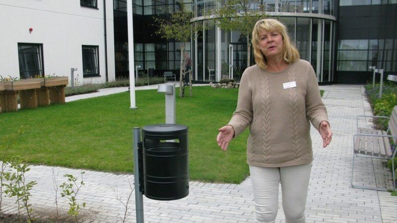 Helen Frennemark Hållö, verksamhetschef på Villa Roos park. Foto Ivar Sjögren