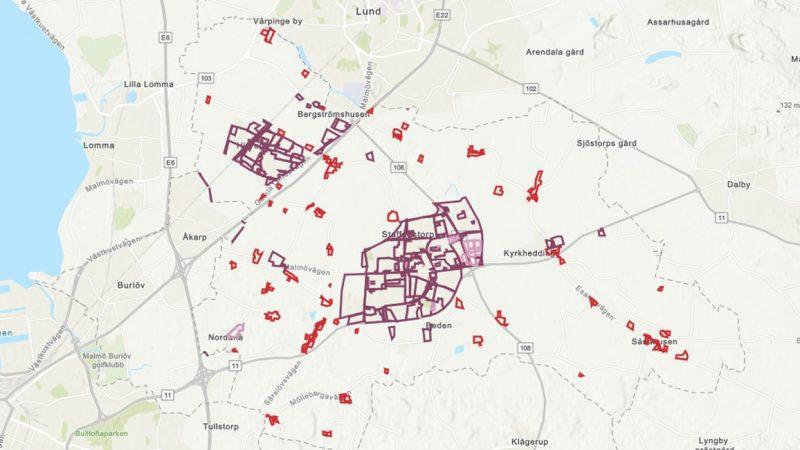 Detaljplaner och områdesbestämmelser.