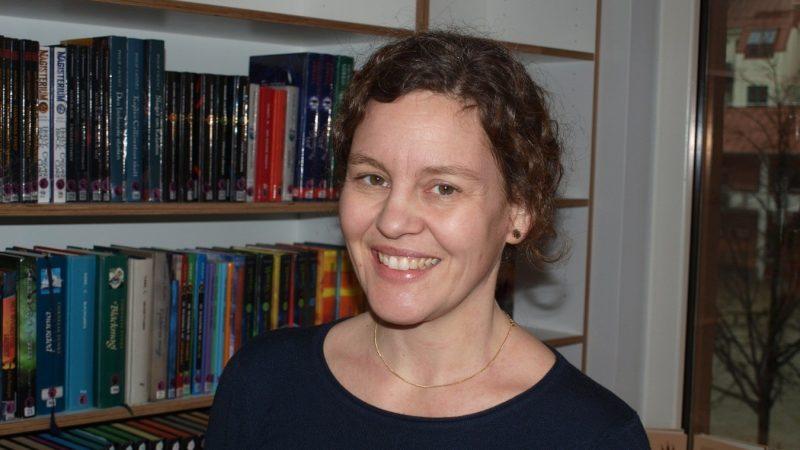 Anna-Karin Rennemark, bibliotekschef. Foto: Ivar Sjögren