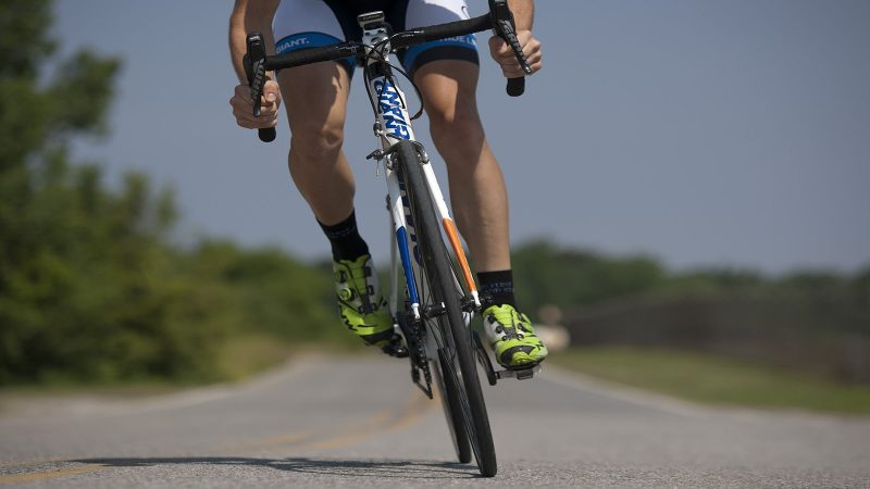 En cyklist på väg. Foto: Pixabay